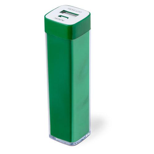 Power Bank Sirouk-vert-2000-mAh