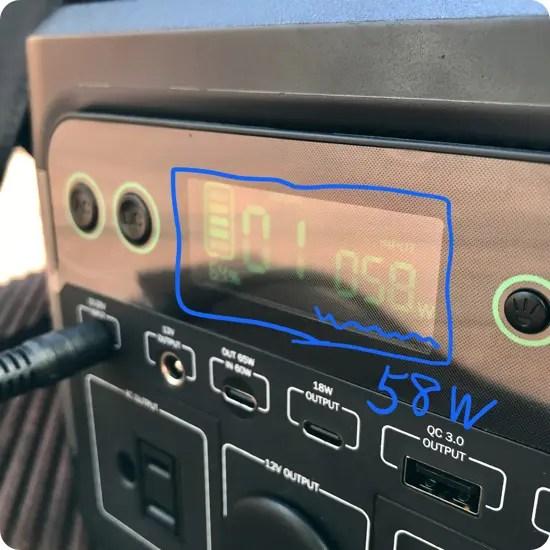 「Puleida ポータブル電源 PU300」をソーラーパネルで充電