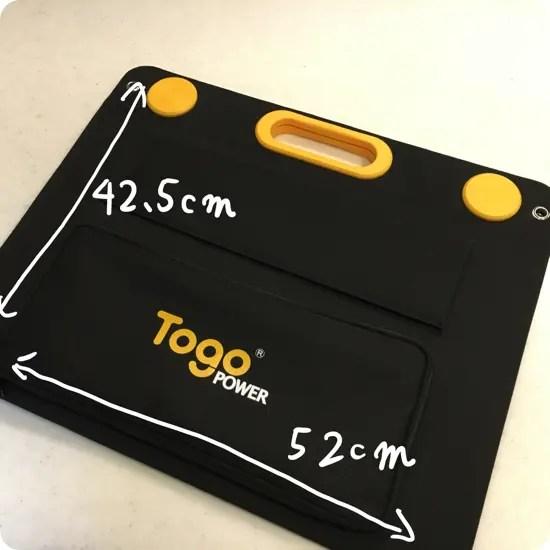 Togo POWER ソーラーパネル 60W 写真レビュー