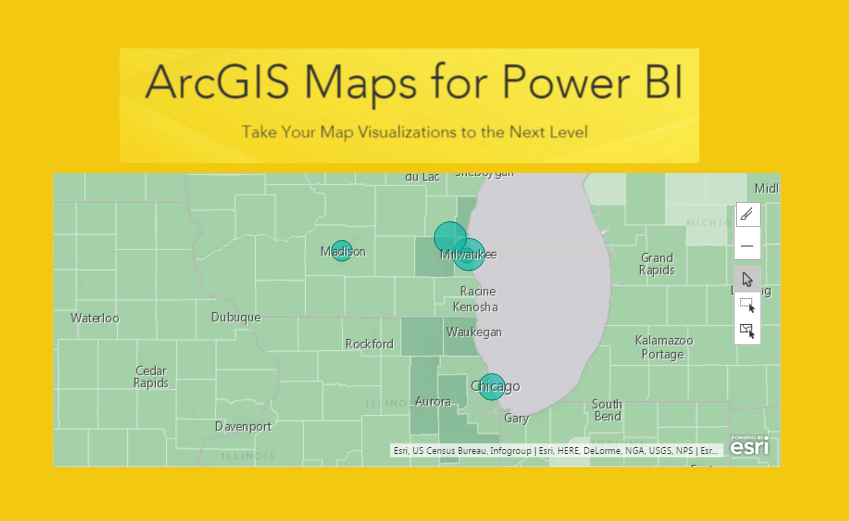 Using Advanced Mapping in ArcGIS Preview Power BI Tips and Tricks