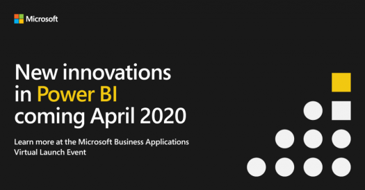 Microsoft Business Applications Virtual Launch Event April 2020 image.