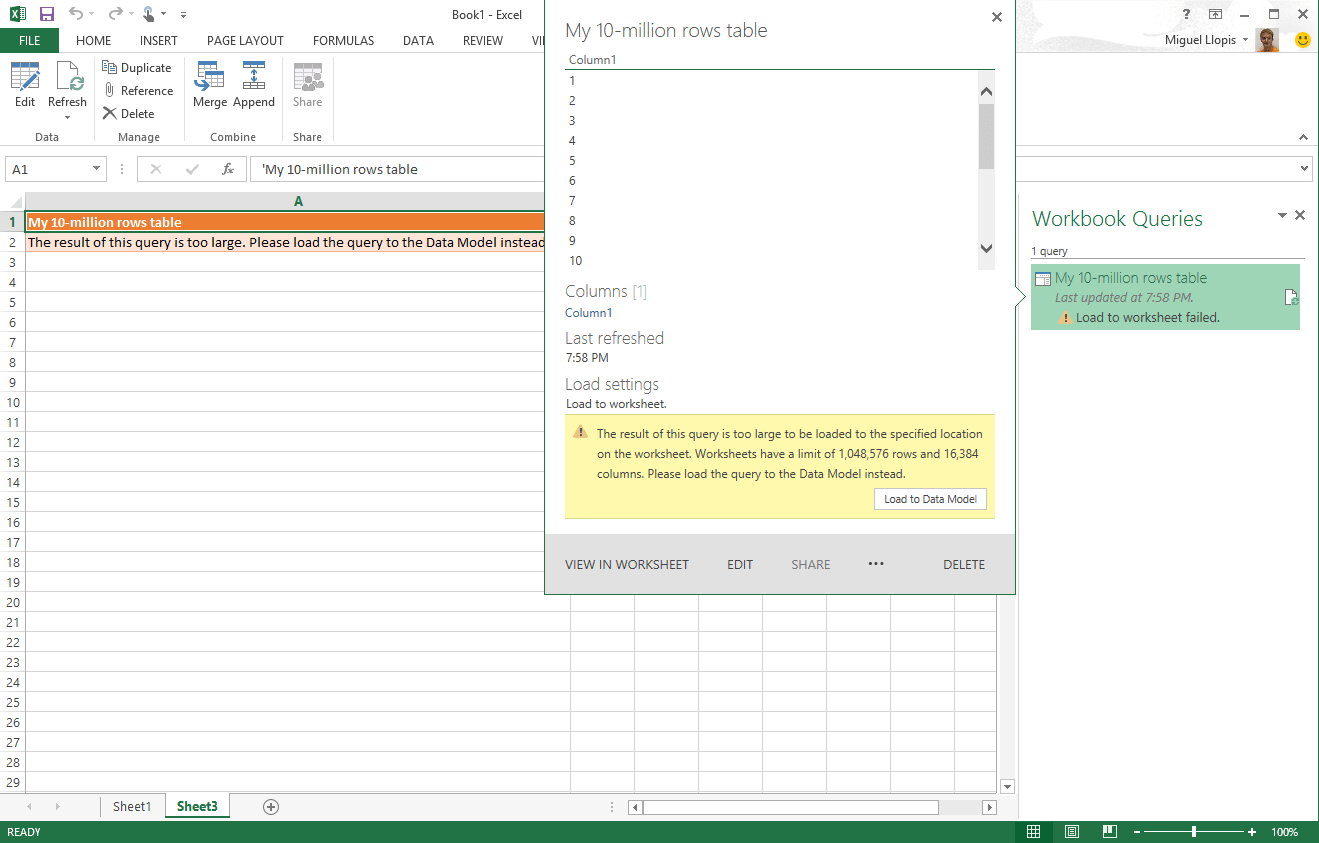 New Updates For Power Query