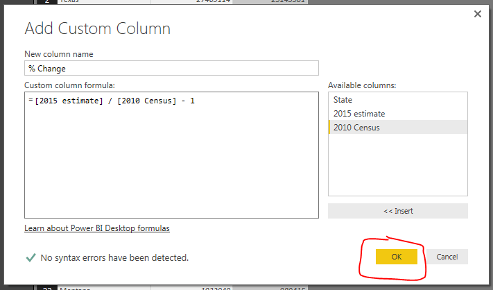 Add Custom Column