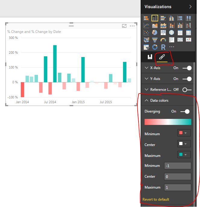 Changing Bar Chart Colors