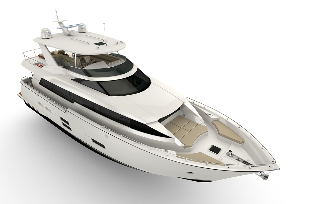 Hatteras Unveils All New 70 Motor Yacht Power Boating