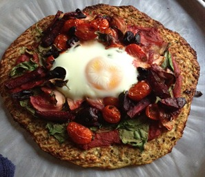 Powercakes Cauliflower Crust Pizza