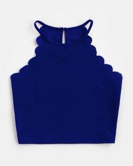 Women's Sleeveless Camisole Sexy Crop Top