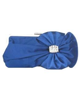 Bridal Clutch Wedding Handbag Bow Rhinestone Beaded Evening Purse