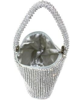 Rhinestone Glitter Wedding Bridal Handbag