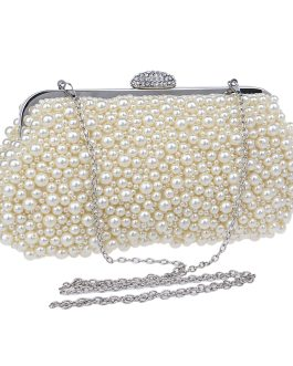 Sweet Beading Floral Evening Bag For Women