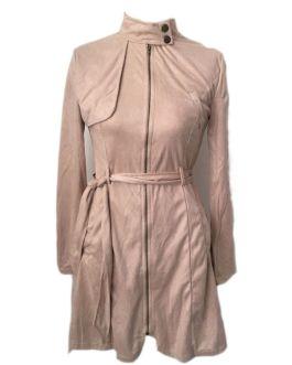 Fashion Zipper Chic Slim Elegant Long Sleeve Party Dress