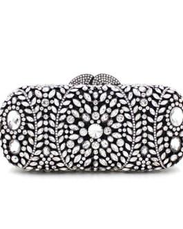 Crystal Diamond Fashion Clutch Purse