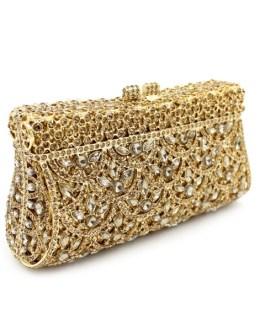 Crystal Party Handbag Clutch