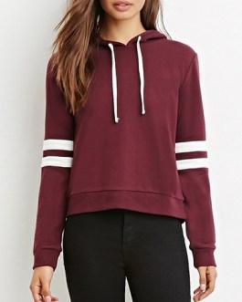 Double Stripes Casual Sweatshirt