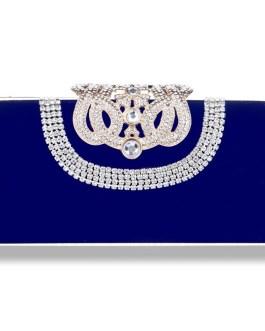 Mini Crown Metal Crystal Clutch