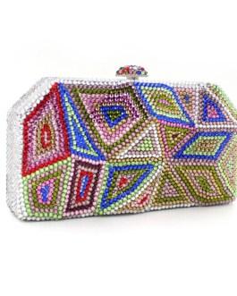 Rhinestone Evening Clutch Bag