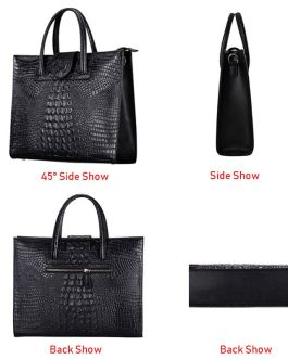 Crocodile Pattern Totes Evening Package Shoulder Messenger Bag