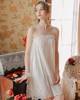 Modal Palace  Style Sweet Girls Bride Nightdress