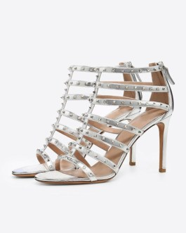 Peep Toe Stiletto Heel Sandal Shoes