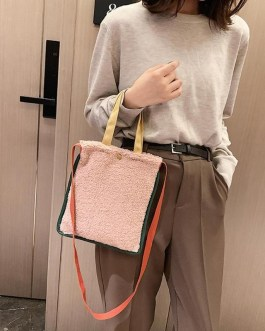 Large Capacity Soft Surface Square Shoulder Crossbody Bags