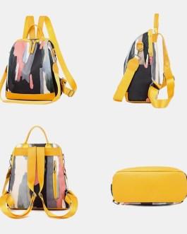 Anti theft Waterproof Casual Backpack School Bag