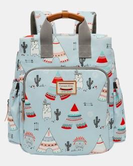 Light Weight Cartoon Large Capacity Backpack