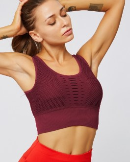 Sexy Mesh Workout Sport Bras