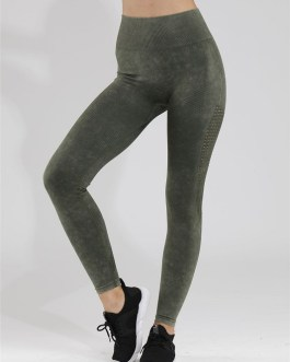 Frosted Seamless Athletic Gym Leggings