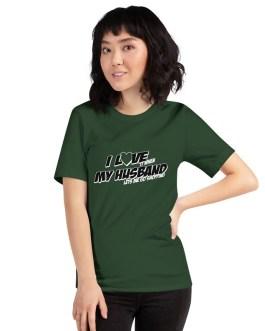I Love It When My Husband Lets Me Go Shopping Unisex Premium T-Shirt