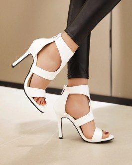 Open Toe Stiletto High Heels Sandals