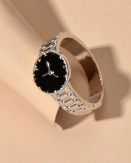 Ring Watch Shaped Finger Jewelry