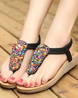 Sandals – Candy Gem Beaded