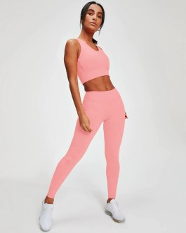 Sexy Push Up Gym Sports Crop Tops