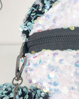 Sweet Lolita Bag Panda Sequins Cross Body Bag