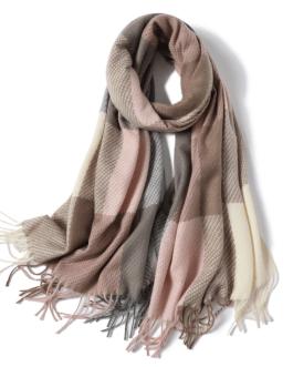 Fashion Luxury plaid warm scarf