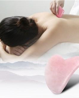 Guasha Scrapers Board Jade Plate Face Massager