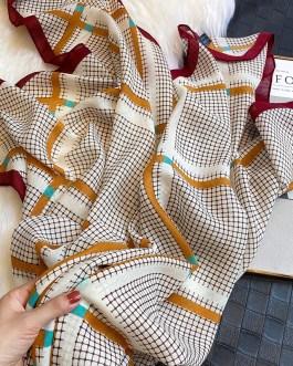 Fashion Plaid Printed Scarves