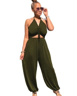 Sexy Camisole Loose Jumpsuits