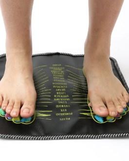 Acupuncture Cobblestone Colorful Reflexology Walk Foot Massager