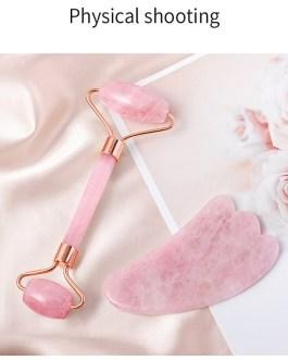 Natural Gouache Scraper Jade Facial Massage Roller