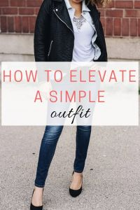 Read more about the article How to Elevate a Simple Tee and Jeans Outfit