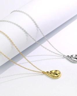Small Design Irregular Water Drop Necklace