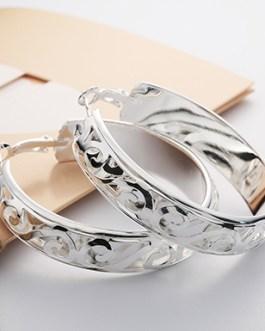 925 Sterling Fashion Hoop Earring