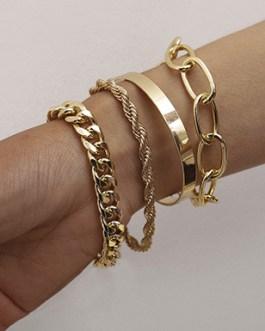 Four Touch of Elegance Bracelets