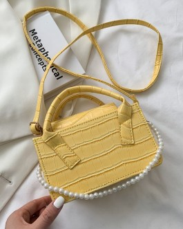 New Arrival Square Faux Pearl Shoulder Bags