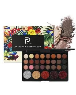 Professional Makeup Glitter Matte Eyeshadow Pallete
