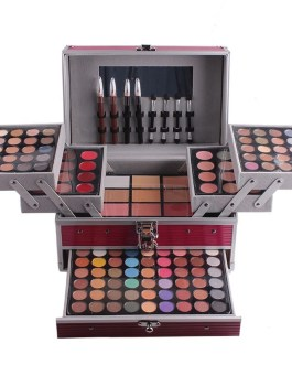 Professional Makeup Set Piano Aluminum Box