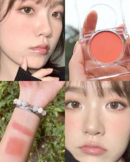 Single Color Blush Makeup Palette Mineral Powder