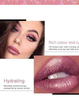 Diamond Shimmer Glitter Lipg Loss Matte Liquid Lipstick