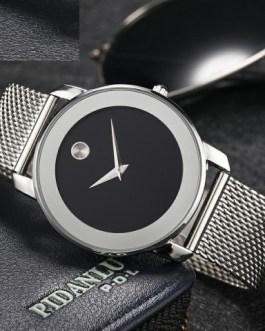 Elegant Casual Hardlex Hook Buckle Wristwatch
